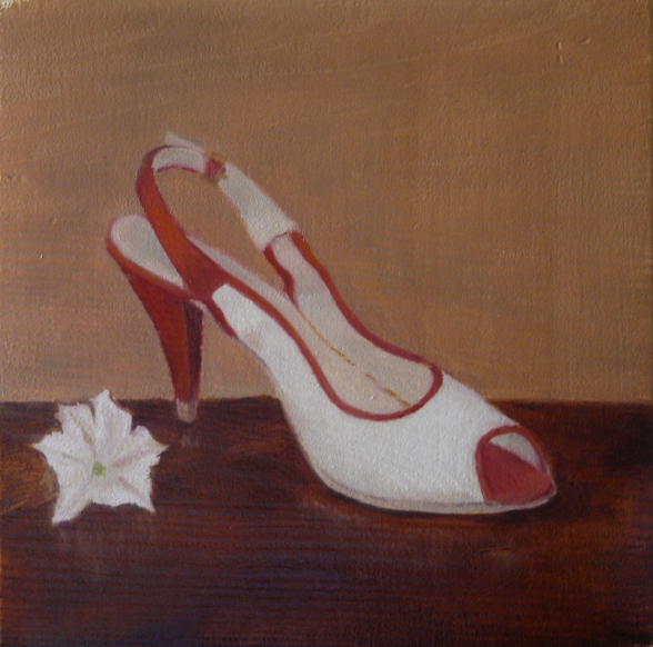 Daily painting chaussure