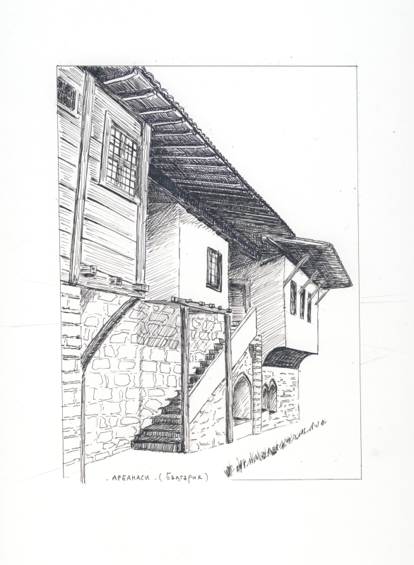 maison bulgare facade